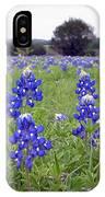 Bluebonnets IPhone Case