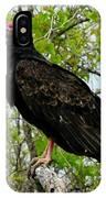 Texas Buzzard - Turkey Vulture IPhone Case