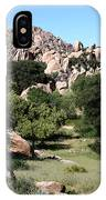 Texas Canyon Landscape IPhone Case