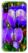 Texas Mountain Laurel Along Window Trail In Big Bend National Park-texas IPhone Case