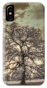 Texas Oak Tree IPhone Case