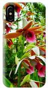 Texas Orchids IPhone Case