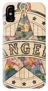 Texas Rangers Poster Art IPhone Case