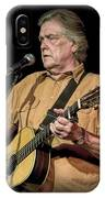 Texas Singer Songwriter Guy Clark IPhone Case