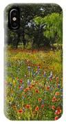 Texas Wildflower Medley IPhone Case
