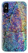 Texture And Color Abstract IPhone Case