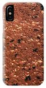 Texture In Red IPhone Case