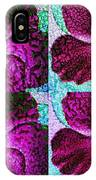 Textured Blossoms IPhone Case