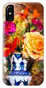 Textured Bouquet IPhone Case