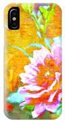Textured Dahlia Perfection IPhone Case