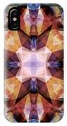 Textured Geometric Mandala IPhone Case