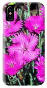 Textured Pink Daisies IPhone Case