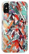 Textured Structural Abstract IPhone Case