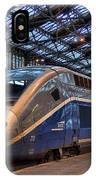 Tgv At The Train Station  IPhone Case