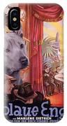 Thai Ridgeback Art Canvas Print - Der Blaue Engel Movie Poster IPhone Case