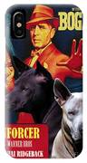 Thai Ridgeback Art Canvas Print - The Enforcer Movie Poster IPhone Case