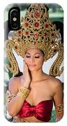 Thai Woman In Traditional Dress IPhone Case