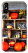 Thanksgiving Pumpkin Display No. 1 IPhone Case
