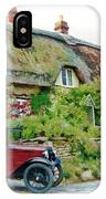 Thatched Cottages At Reybridge IPhone Case by Paul Gulliver