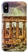 The Acropolis Of Athens IPhone Case