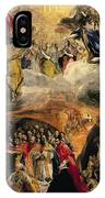 The Adoration Of The Name Of Jesus IPhone Case