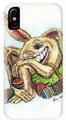 The Altered Easter Bunny IPhone Case