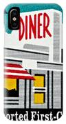 The American Diner  IPhone Case
