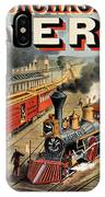 The American Railway Scene  IPhone Case