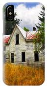 The Apple Tree On The Hill IPhone Case