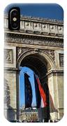 The Arc De Triomphe De Etoile  IPhone Case