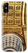 The Arc De Triomphe IPhone Case