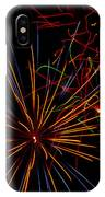 The Art Of Fireworks  IPhone Case