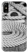 The Art Of Rope Lying IPhone Case