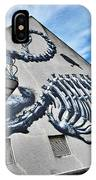 The Artist Roa At Work  IPhone Case