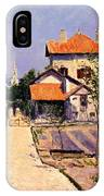 The Artists House At Yerres IPhone Case
