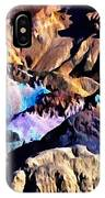 The Artists Palette Death Valley IPhone Case