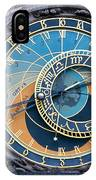 The Astronomical Clock In Prague IPhone Case