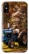The Autumn Blues IPhone Case