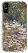 The Avenue At The Park IPhone Case