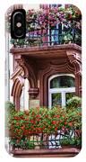 The Balcony Flowers IPhone Case