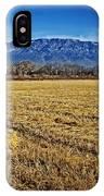 The Bale - Sandia Mountains - Albuquerque IPhone Case