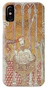 The Baptism Of St. Paul By Ananias, From Scenes From The Life Of St. Paul Mosaic IPhone Case