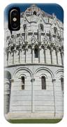 The Baptistery In Pisa  IPhone Case