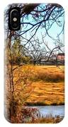 The Barn In Autumn IPhone Case