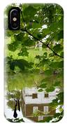 The Barn In The Water IPhone Case