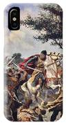 The Battle Of Bouvines, 1214 IPhone Case