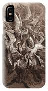 The Battle Of The Angels IPhone Case