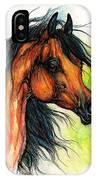 The Bay Arabian Horse 11 IPhone Case