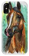 The Bay Arabian Horse 2 IPhone Case