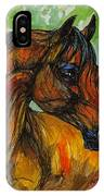 The Bay Arabian Horse 3 IPhone Case